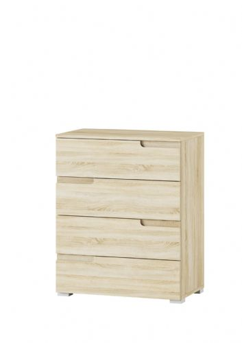 Santino Sonoma Oak Chest of Drawers S4 - 2982